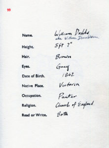 william dodds name
